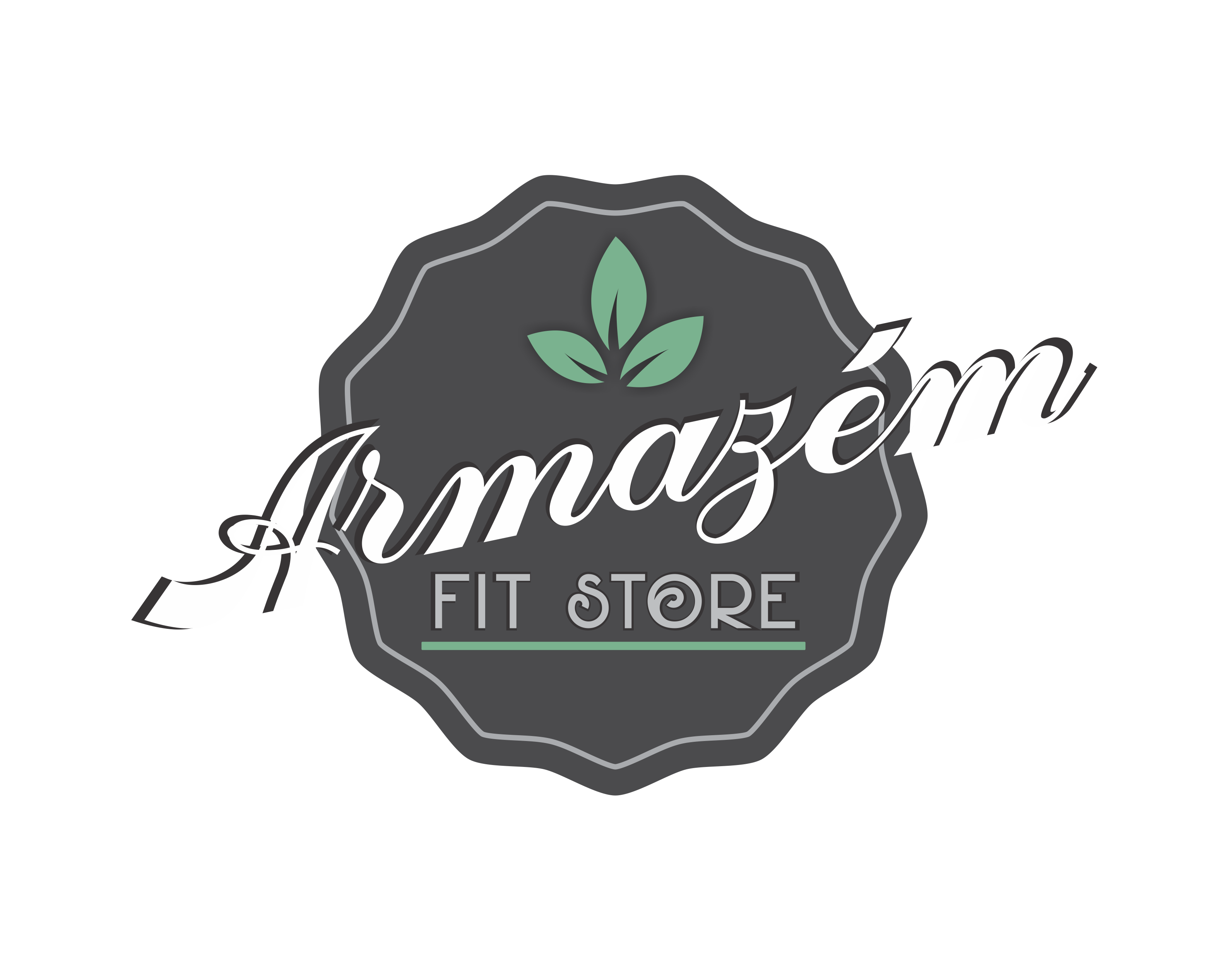 Logo Armazém Fit Store AFS Franchising